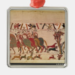 Count Guy of Ponthieu takes Harold, his Christmas Tree Ornament