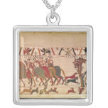 Count Guy of Ponthieu takes Harold, his Square Pendant Necklace