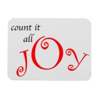 Count It All Joy Magnet