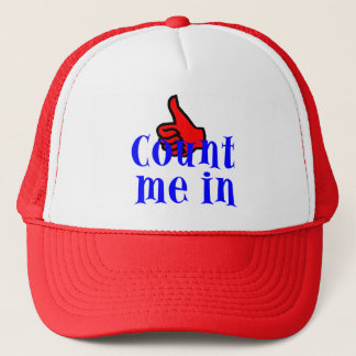 Count Me In Hat