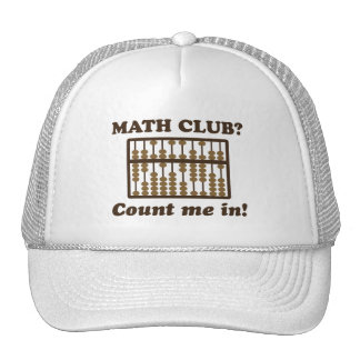 Count Me in the Math Club Trucker Hat