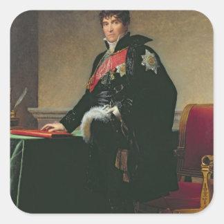 Count Michel Regnaud de Saint-Jean-d'Angely Square Sticker