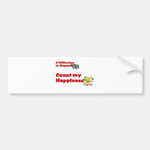Count my Blessing Car Bumper Sticker