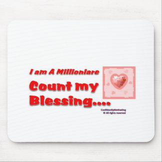 Count my Blessing Mouse Pad
