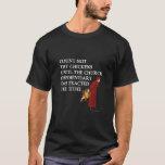 Count Not Thy Chickens (Dark) T-Shirt