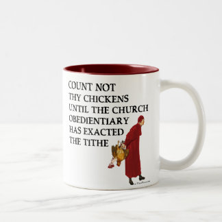 Count Not Thy Chickens Mug