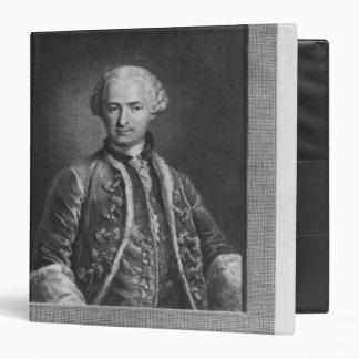 Count of St. Germain, famous alchemist, 1783 Binder