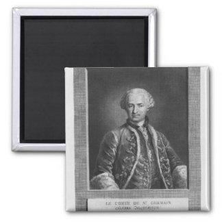 Count of St. Germain, famous alchemist, 1783 Fridge Magnet