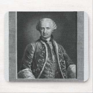 Count of St. Germain, famous alchemist, 1783 Mouse Pad