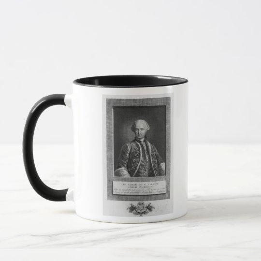 Count of St. Germain, famous alchemist, 1783 Mug