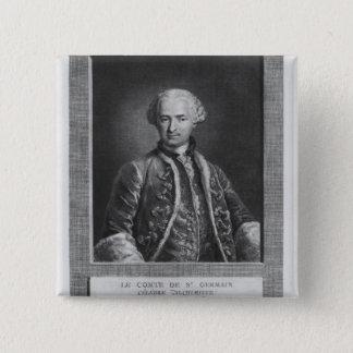 Count of St. Germain, famous alchemist, 1783 Pinback Button