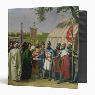 Count of Tripoli accepting the Surrender Binders