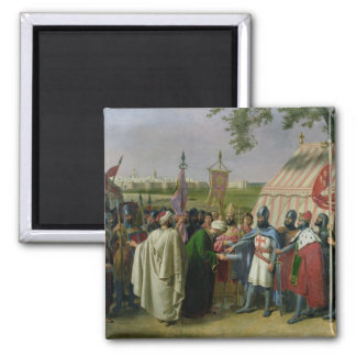 Count of Tripoli accepting the Surrender Magnet