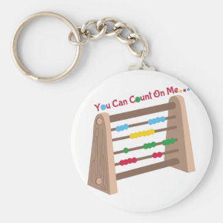 Count On Me Keychain