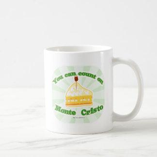 Count on Monte Cristo Coffee Mugs