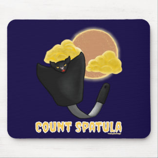 Count Spatula Mouse Pad