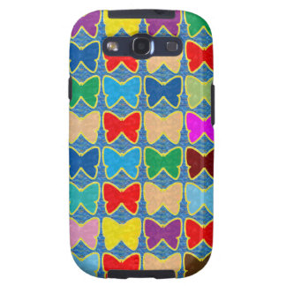 Count the BUTTERFLIES KIDS Template add text photo Samsung Galaxy SIII Cases
