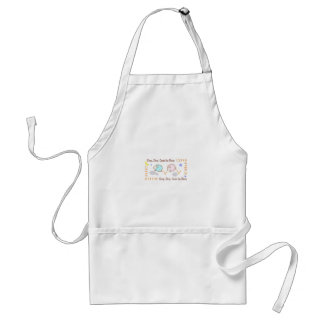 COUNT THE SHEEP ADULT APRON
