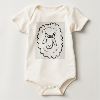 count to sheep baby bodysuit