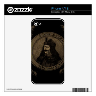 Count Vlad Dracula Skins For iPhone 4
