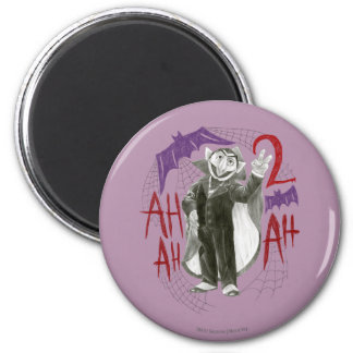 Count von Count B&W Sketch Drawing Fridge Magnets
