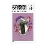 Count von Count B&W Sketch Drawing Postage