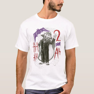 Count von Count B&W Sketch Drawing T-Shirt