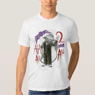 Count von Count B&W Sketch Drawing Tee Shirt