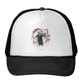 Count von Count B&W Sketch Drawing Trucker Hat