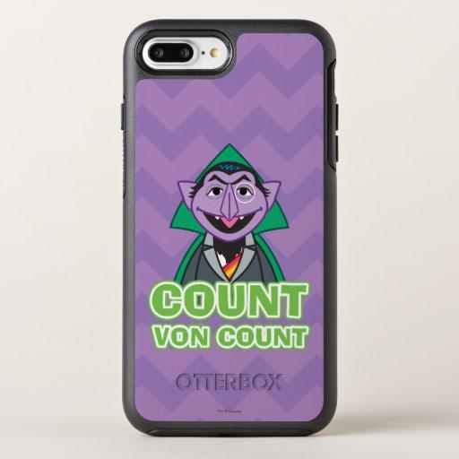 Count von Count Classic Style 2 OtterBox Symmetry iPhone 8 Plus/7 Plus Case