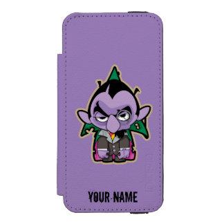Count von Count Zombie iPhone SE/5/5s Wallet Case