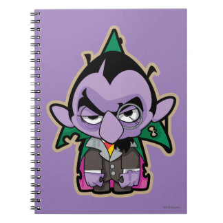 Count von Count Zombie Notebook