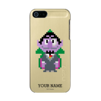 Count von Pixel Art | Add Your Name Metallic Phone Case For iPhone SE/5/5s