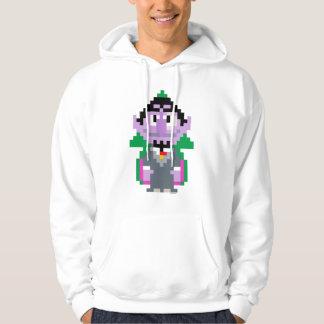 Count von Pixel Art Hoodie