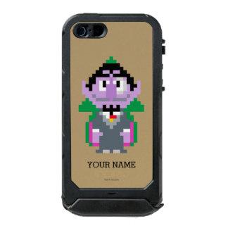 Count von Pixel Art Waterproof Case For iPhone SE/5/5s