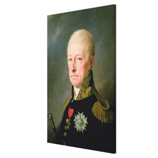 Count Wenzei Anton von Kaunitz Canvas Print