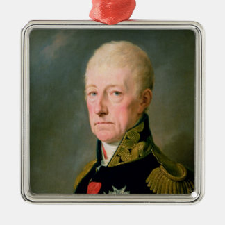 Count Wenzei Anton von Kaunitz Metal Ornament