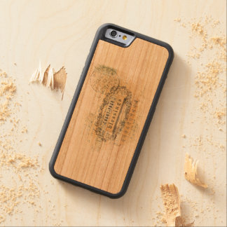 Count Your Blessing Collage Wordart Carved® Cherry iPhone 6 Bumper