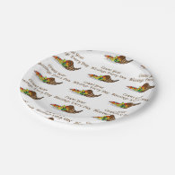 Count Your Blessings2 7 Inch Paper Plate