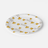 Count Your Blessings 7 Inch Paper Plate