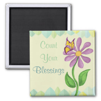 Count Your Blessings - Fridge Magnet