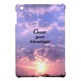 Count Your Blessings iPad Mini Cases