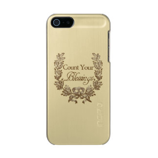 Count Your Blessings Incipio Feather® Shine iPhone 5 Case