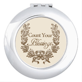 Count Your Blessings Makeup Mirror