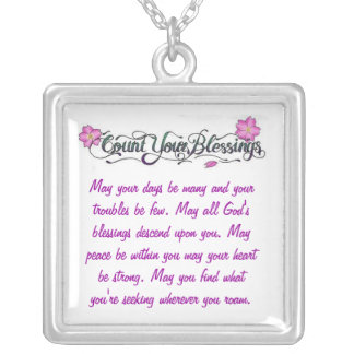 Count Your Blessing's Necklace