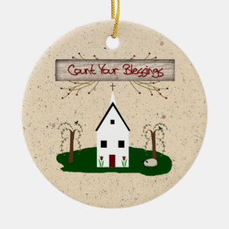 Count Your Blessings Ornament
