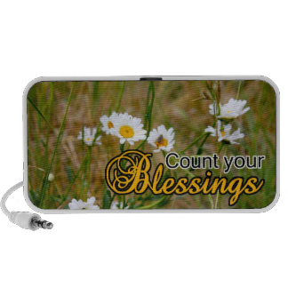 Count Your Blessings Portable Speaker