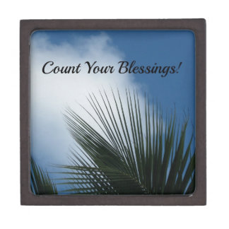 Count Your Blessings Premium Keepsake Box