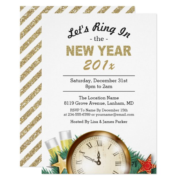 115+ New Year\'s Eve Party Invitations | Mimoprints