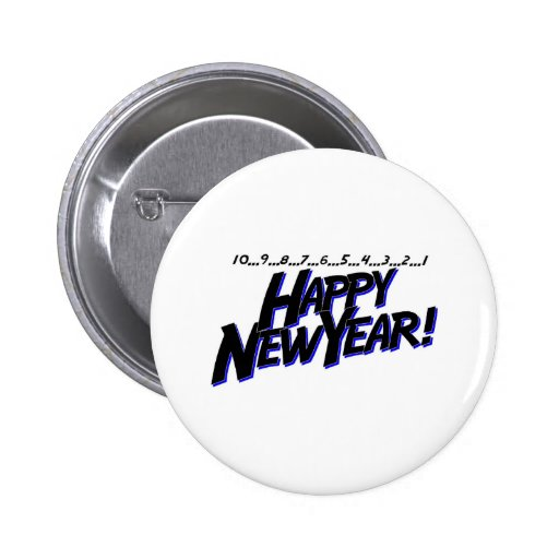 Countdown Happy New Year Buttons